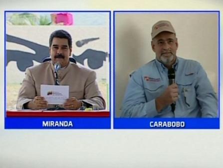 Nicolas Maduro y Amelich
