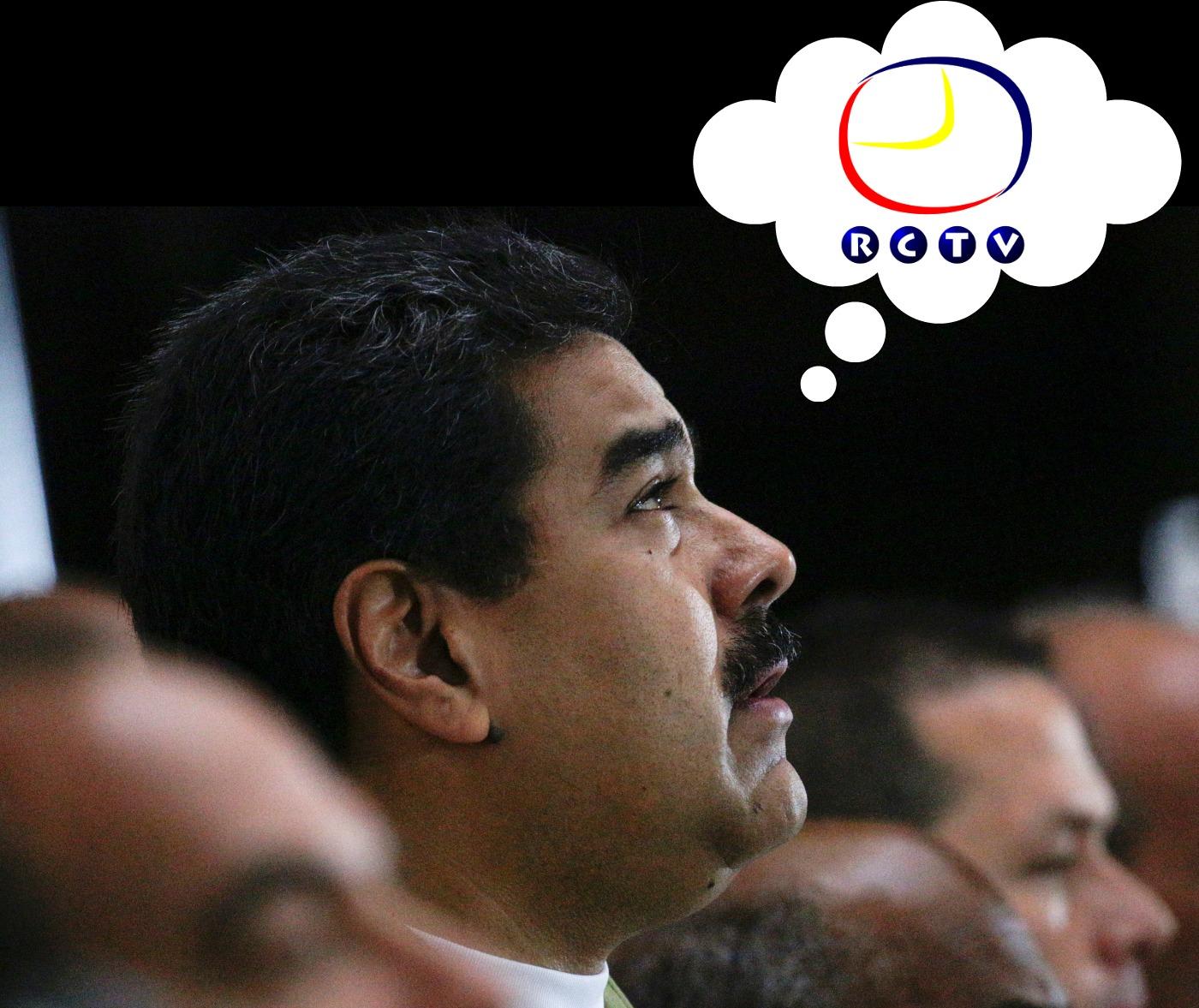 Nicolas Maduro y Rctv