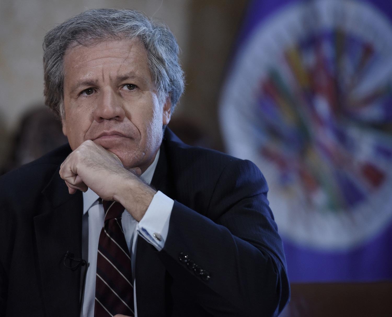 MIA28 WASHINGTON, DC (EE.UU), 23/2/2017.- El secretario general de la OEA, Luis Almagro, dijo a Efe hoy, jueves 23 de febrero del 2017, estar
