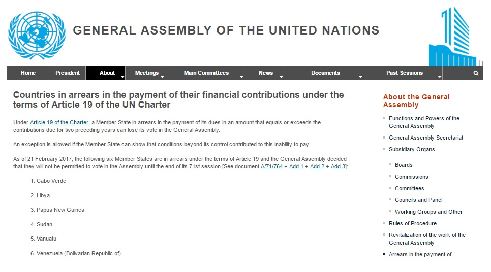 Vzla ONU Voto