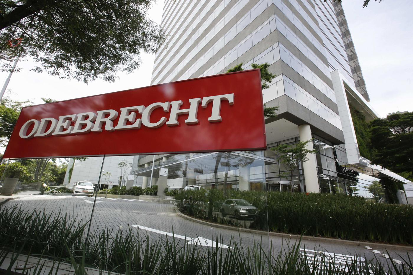 Fachada de la constructora brasileña Odebrecht (Foto: EFE)