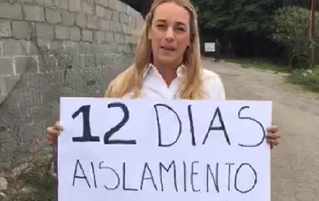 Denuncian el aislamiento ilegal de Leopoldo López
