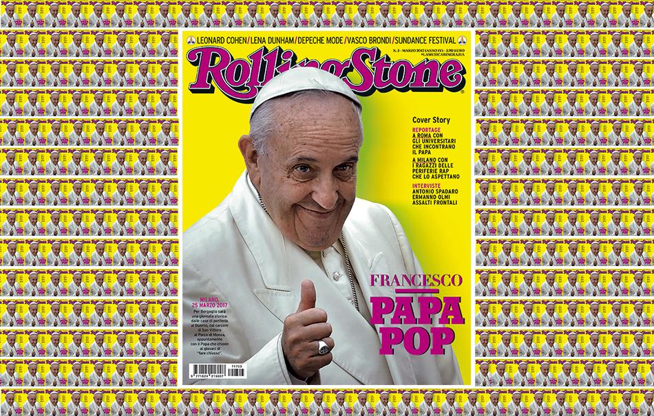 Papa Francisco es la portada de Rolling Stone (otra vez)