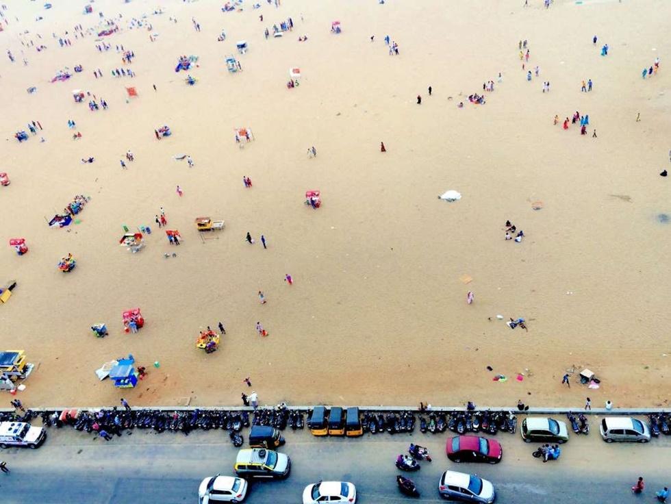 TERCER LUGAR, ESTILO DE VIDA Este foto fue tomada desde un faro en Chennai en la India.