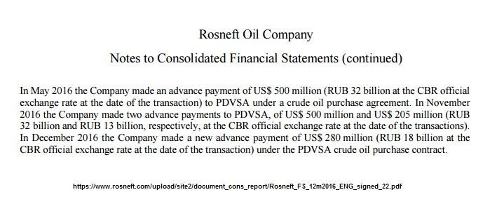 RosneftNotaFinanciera2016