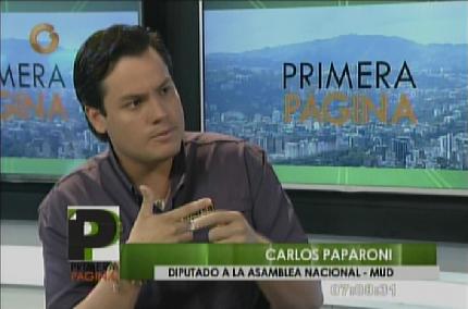 Con el 25 % invertido en Clap el país estuviera produciendo — Paparoni