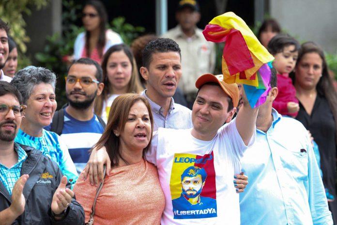 Rosmit Mantilla fue liberado tras dos años y medio de prisión. Foto: Lapatilla.com