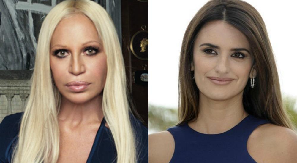 Foto: Donatella Versace y Pénelope Cruz