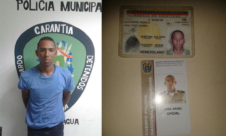 oficial detenido pnb