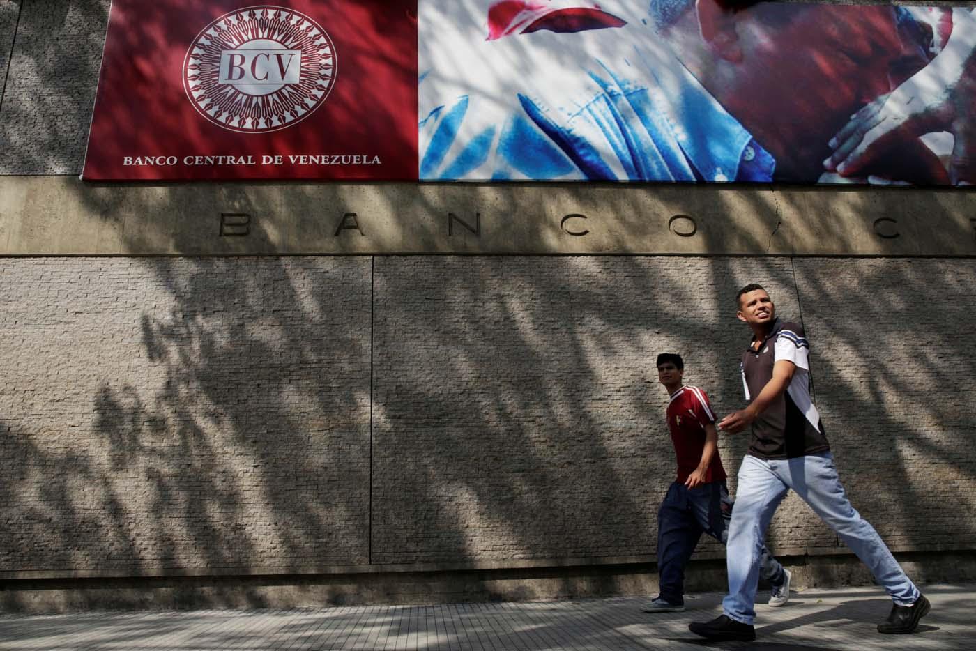 Fachada del Banco Central de Venezuela, en Caracas REUTERS/Marco Bello