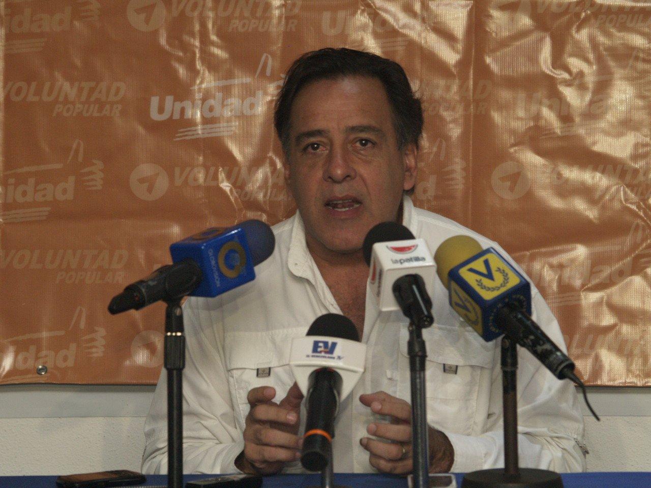 Roberto Smith, dirigente de VP por el estado Vargas