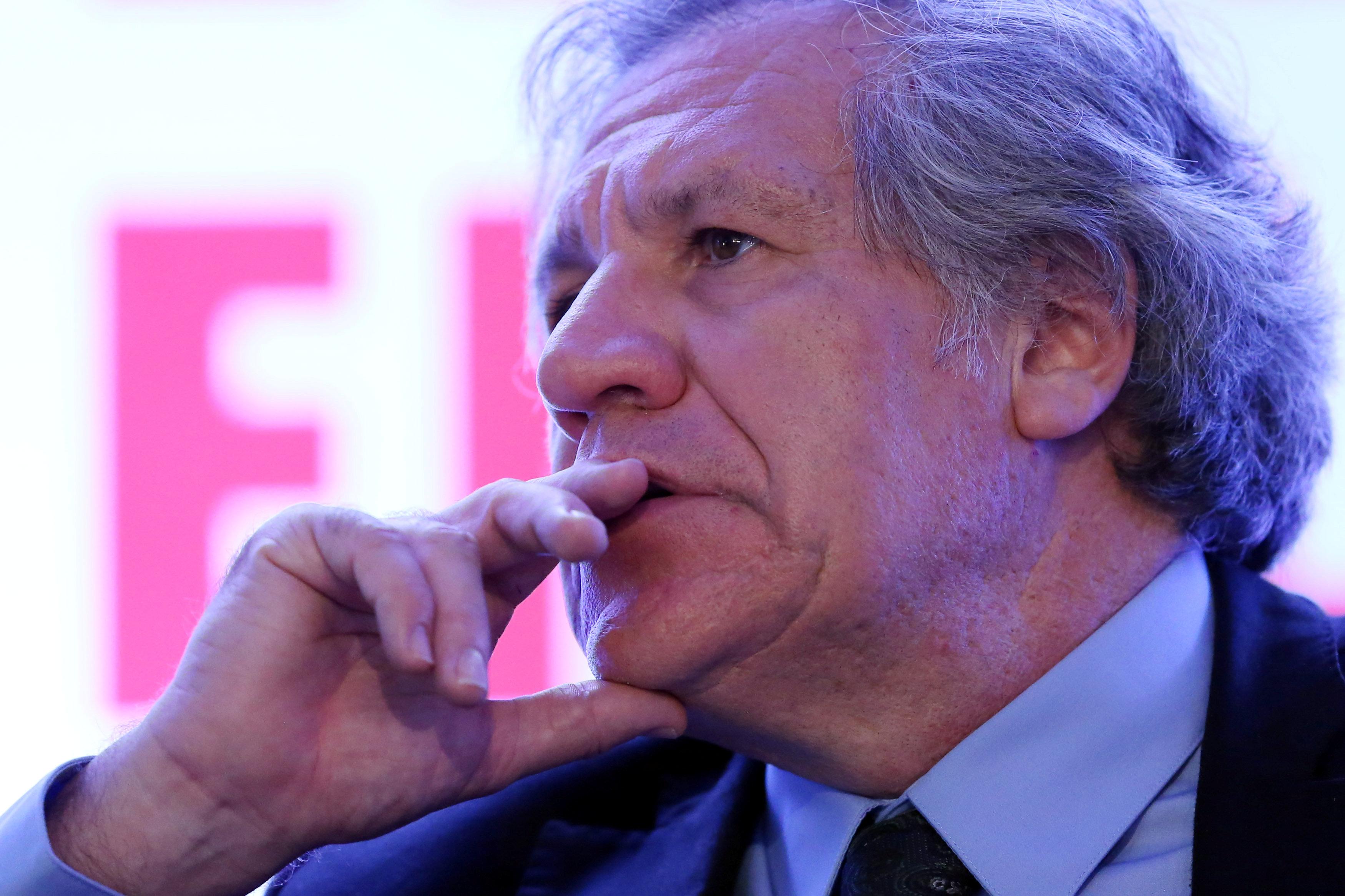Secretario general de la OEA, Luis almagro. REUTERS/Edgard Garrido
