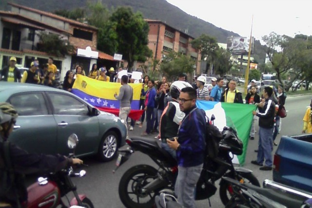 Circuito Judicial : Mar protesta en mérida cerca del circuito judicial