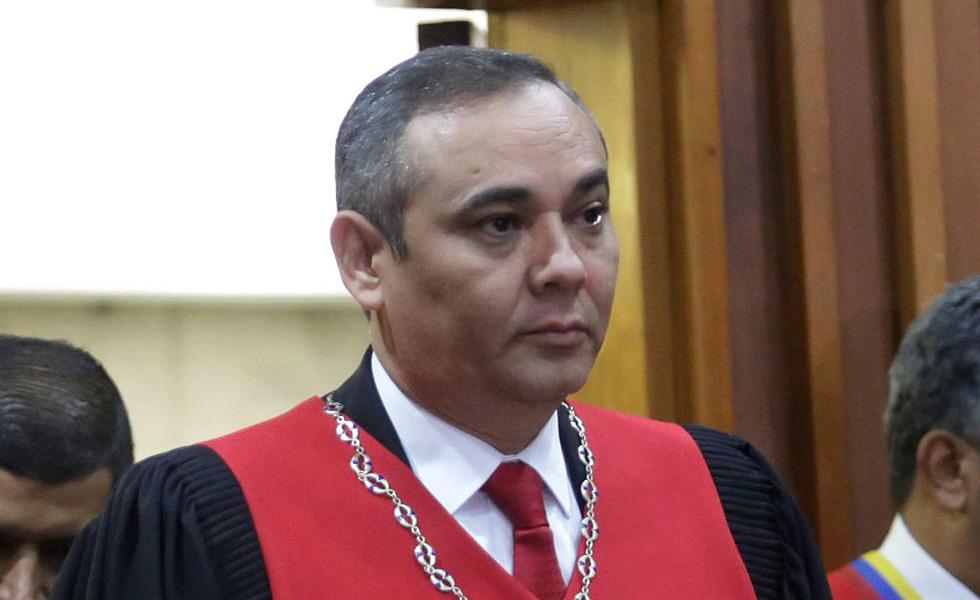 Maikel Moreno, presidente del TSJ / Foto REUTERS/Carlos Garcia Rawlins