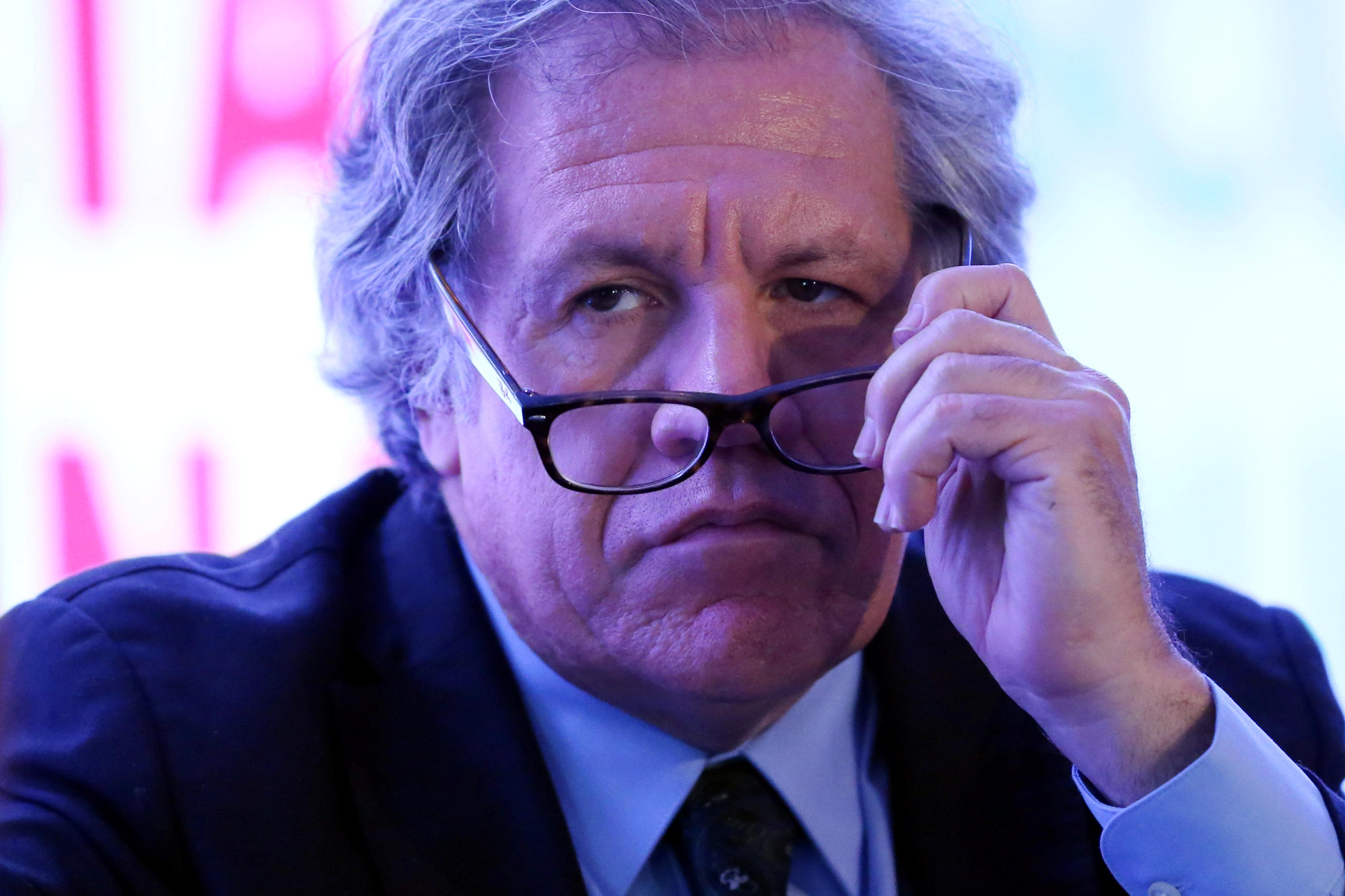 Secretario de la OEA, Luis Almagro. REUTERS/Edgard Garrido