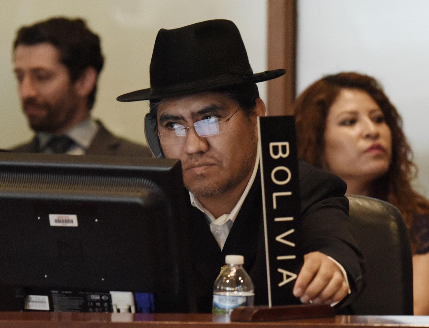 Diego Pary, embajador de Bolivia ante la OEA (Foto EFE)