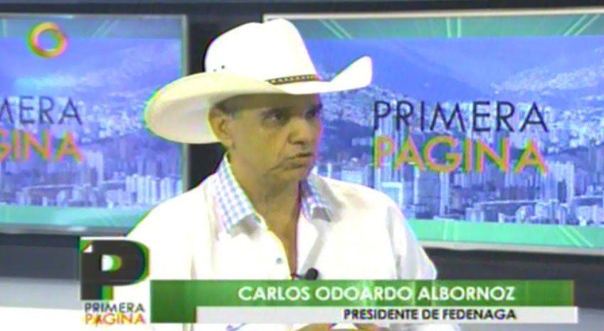 Carlos Odoardo Albornoz, presidente de Fedenaga