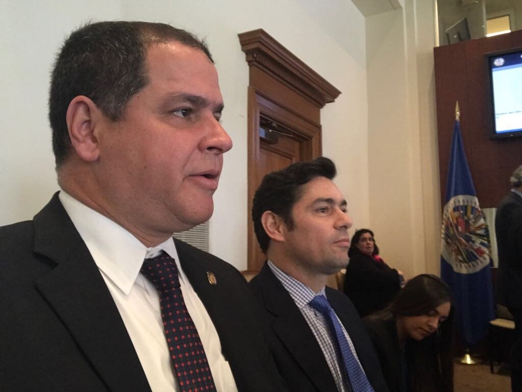Luis Florido, presidente de la Comisión de Política Exterior de la Asamblea Nacional de Venezuela.
