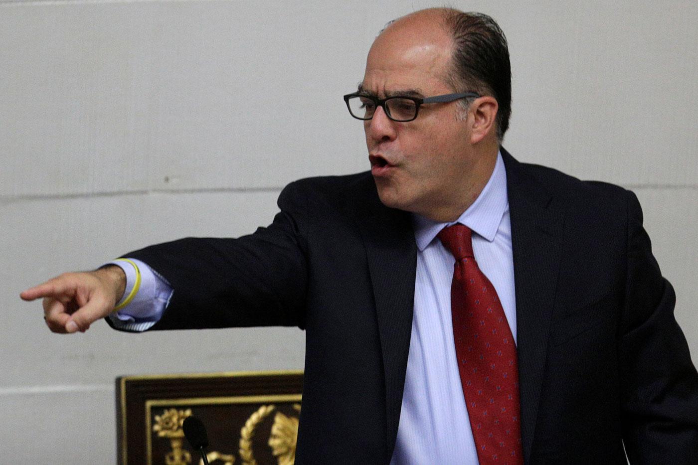 El presidente de la Asamblea Nacional de Venezuela, diputado Julio Borges. Foto: Reuters/ Archivo