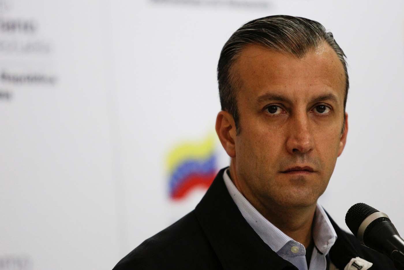 Vicepresidente de la República, Tareck El Aissami (Foto archivo REUTERS/Marco Bello