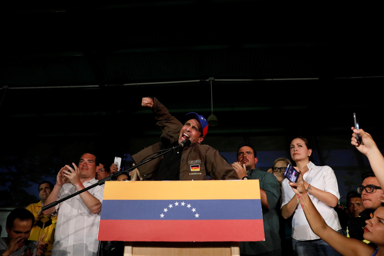 Muere manifestante de la oposición tras ser tiroteado — Venezuela