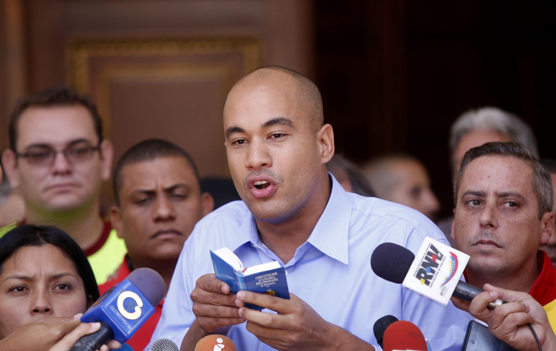 El diputado del Bloque la Patria, Héctor Rodríguez. Foto: AVN