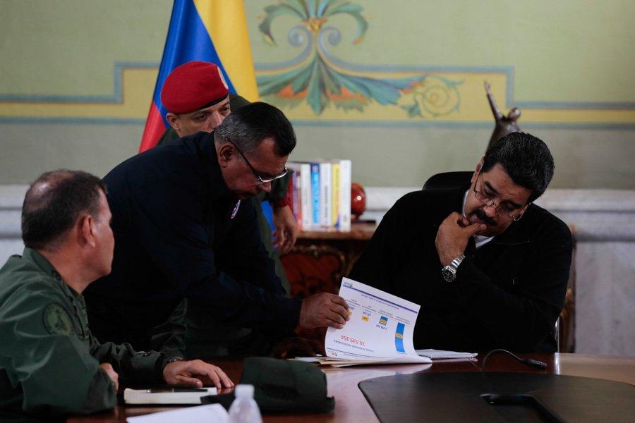 Maduro convoca jornada en