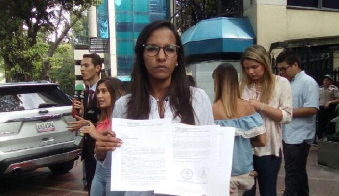 Marialbert Barrios, diputada de la oposición / Foto @unidadvenezuela