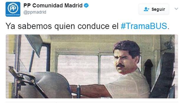 Denuncian en España corrupción con autobús decorado