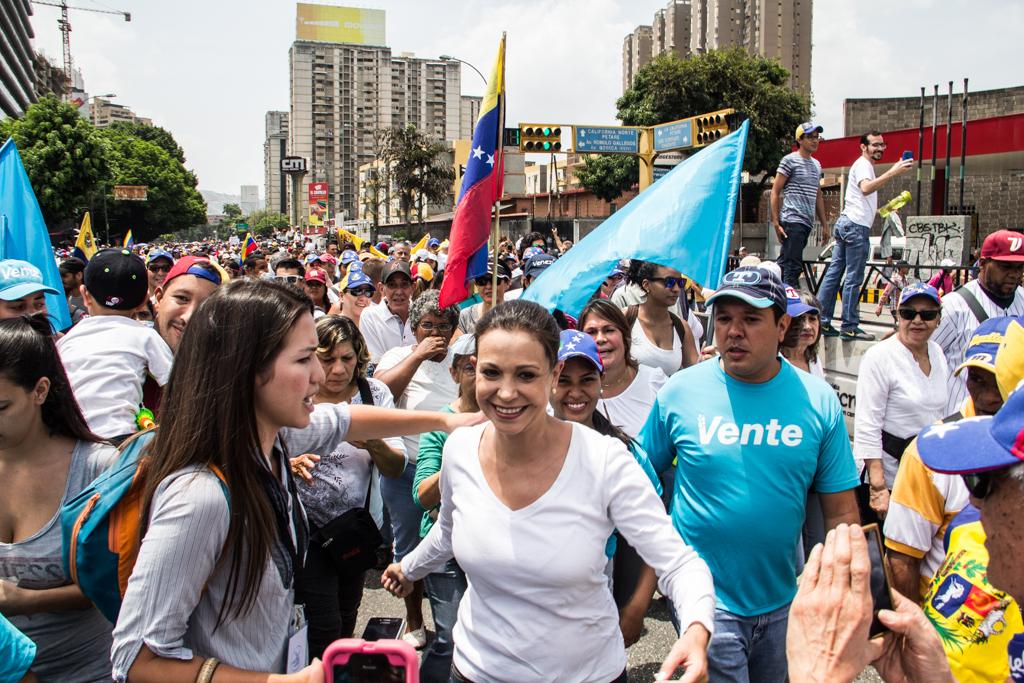 Venezuela: Detenido por muerte en protesta milita en partido opositor