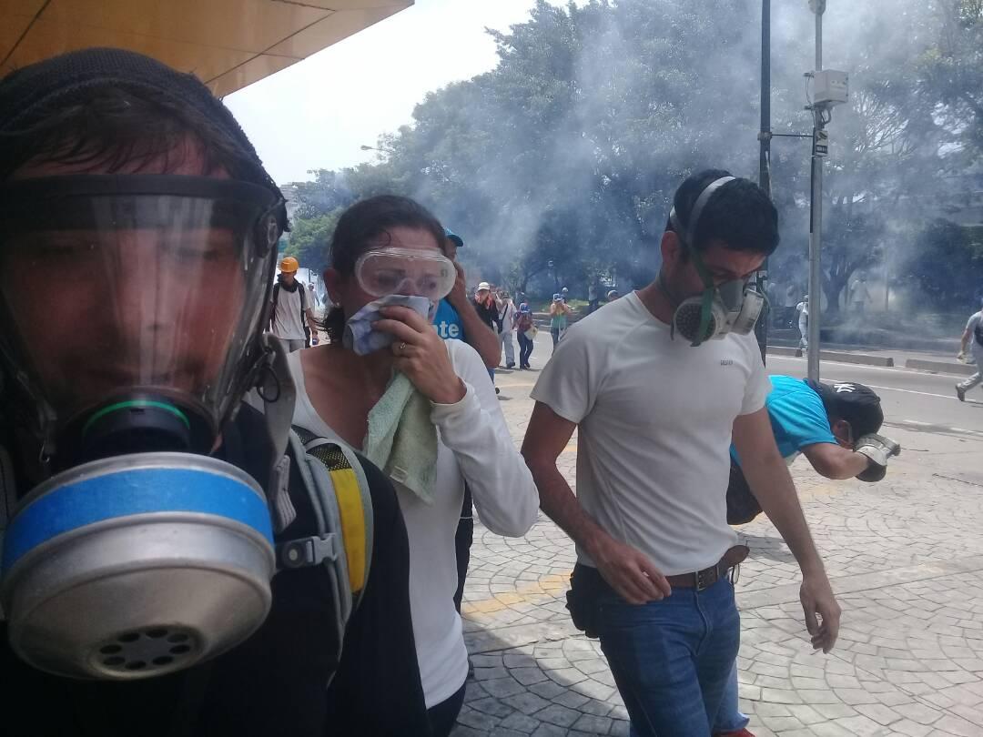 Venezuela: Militar fue abatido por francotirador durante marcha