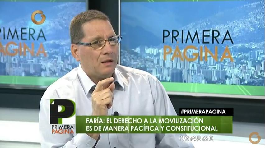 Jesús Faría: No hay condiciones jurídicas para nombrar nuevos magistrados del TSJ