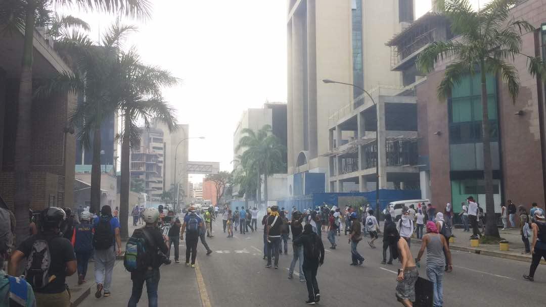 GNB y PNB reprimieron concentraciones opositoras en el interior del país