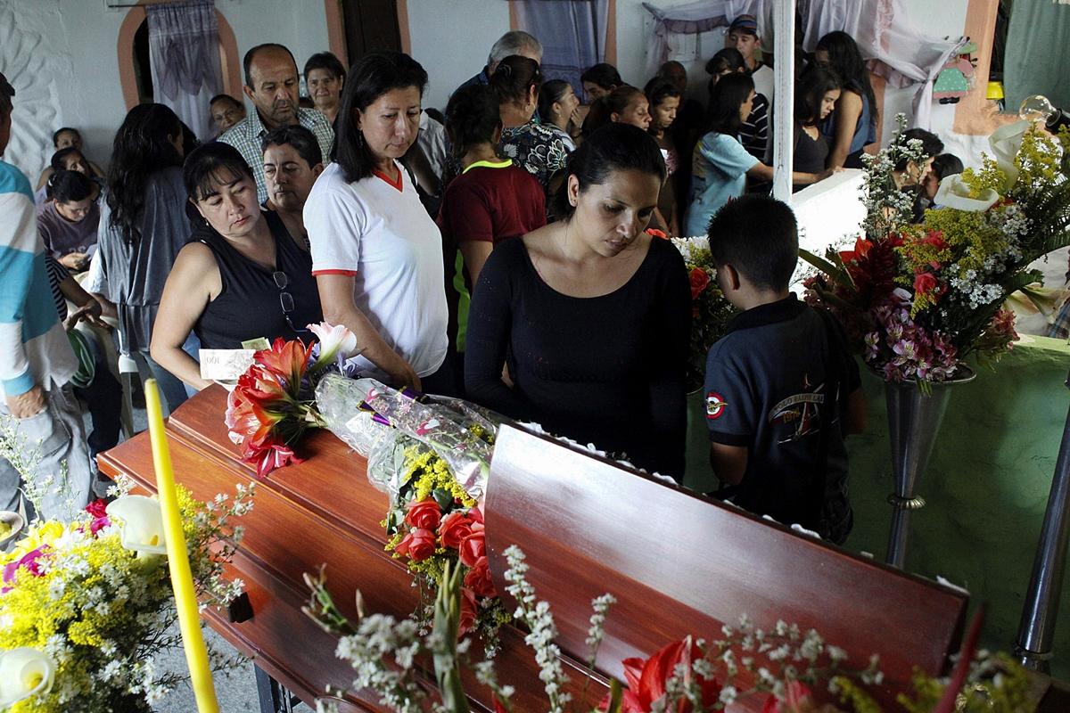 Dos muertos durante protestas en Venezuela