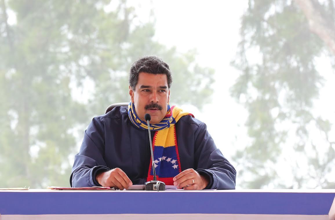 Presidente Maduro: En Venezuela se está imponiendo la paz