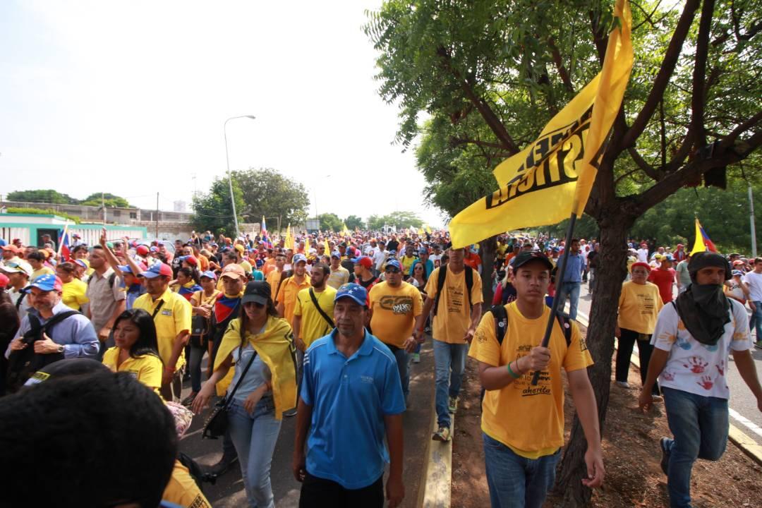 Guanipa: Nos plantamos porque la patria nos obliga a rebelarnos (Fotos)