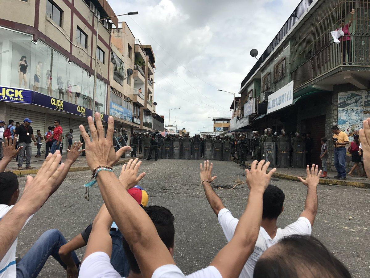 Así se reporta el plantón en el estado Cojedes este #24A (fotos)