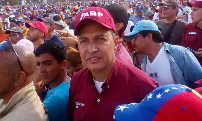 Richard Blanco: Hoy Venezuela demostró resistencia, seguiremos en las calles hasta lograr la victoria