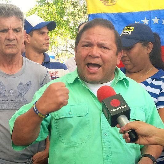 Líder de la Unidad en el estado Bolívar, Andrés Velásquez.
