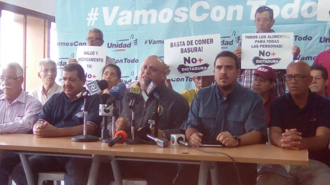 Miguel Quiroz, Secretario Sindical Nacional de AD (Foto: @unidadvenezuela)