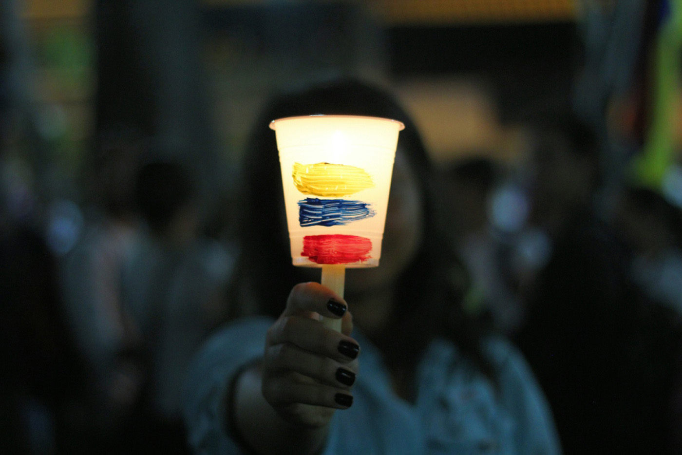 Venezolanos acudieron a la vigilia en honor a los caídos. Foto: La Patilla