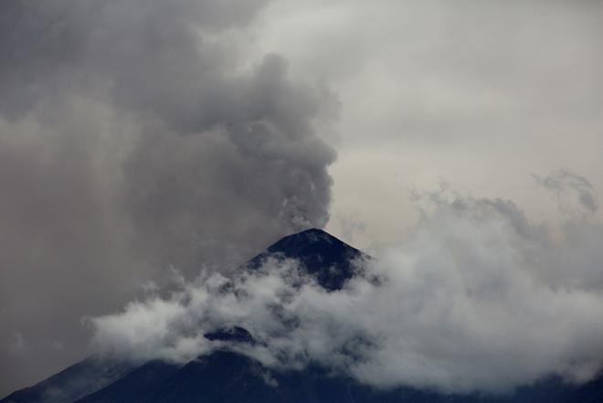 AFP / Volcán en Guatemala