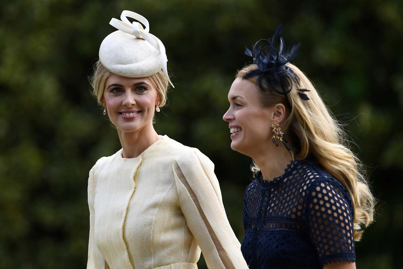 Donna Air (L) attends the wedding of Pippa Middleton and James Matthews at St Mark's Church in Englefield, west of London, on May 20, 2017. REUTERS/Justin Tallis/Pool