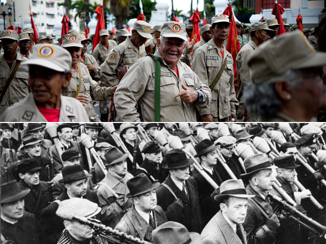 Chavinazi-milicianos