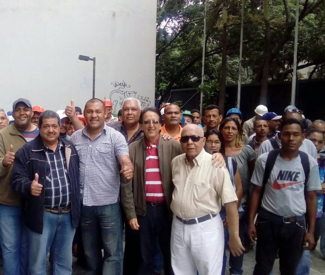 Trabajadores de la Construcción instalaron el Frente Institucional en Defensa de la Constitución
