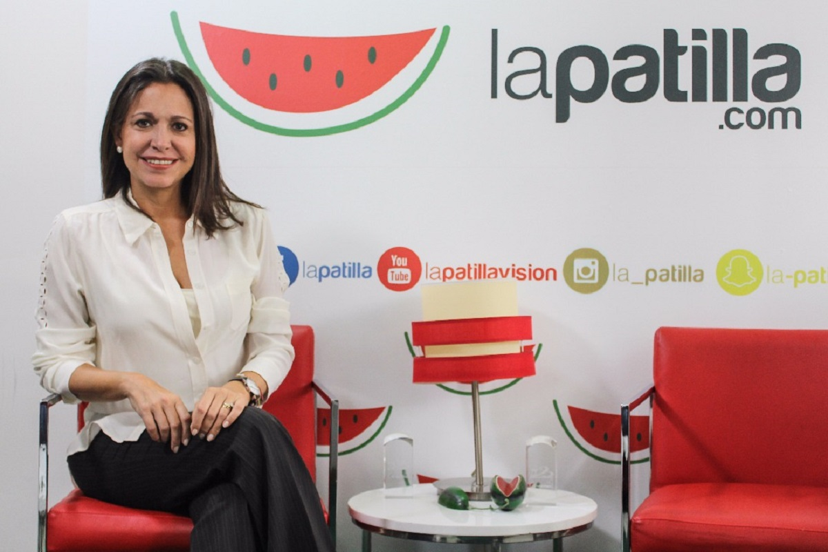 María Corina Machado, coordinadora Nacional de Vente Venezuela
