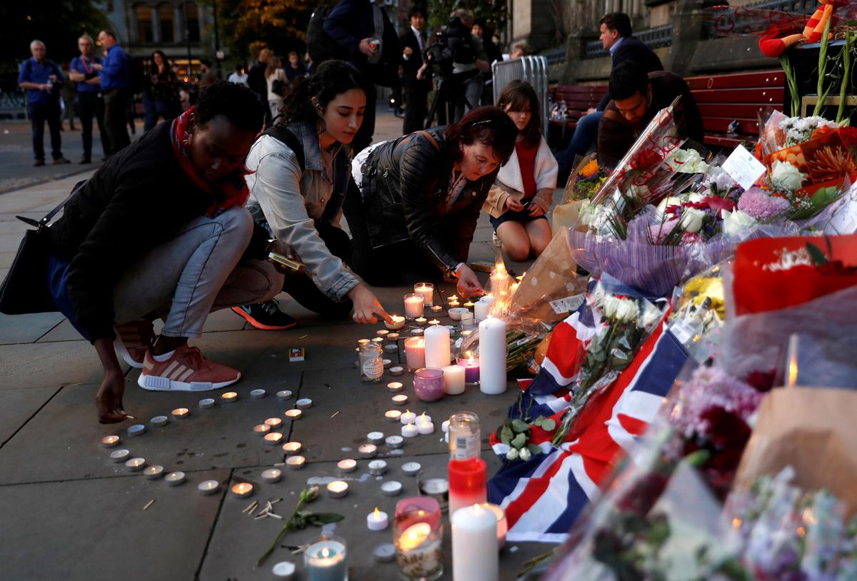 Homenaje a las víctimas de Manchester / REUTERS/Darren Staples