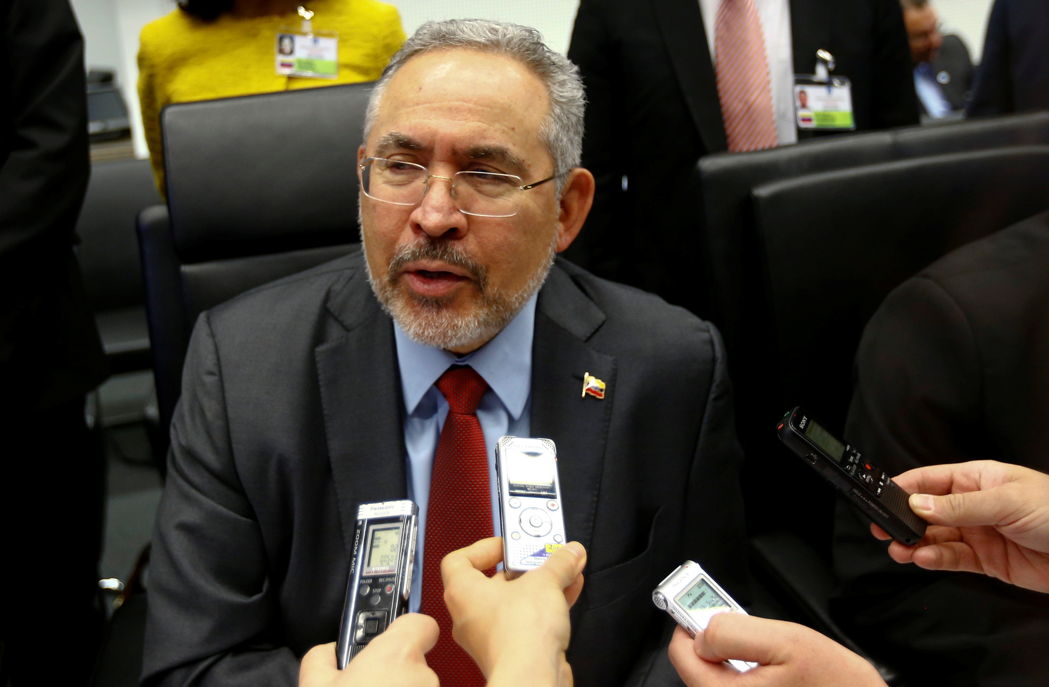 Nelson Martínez, presidente de Pdvsa  Foto: REUTERS/Leonhard Foeger