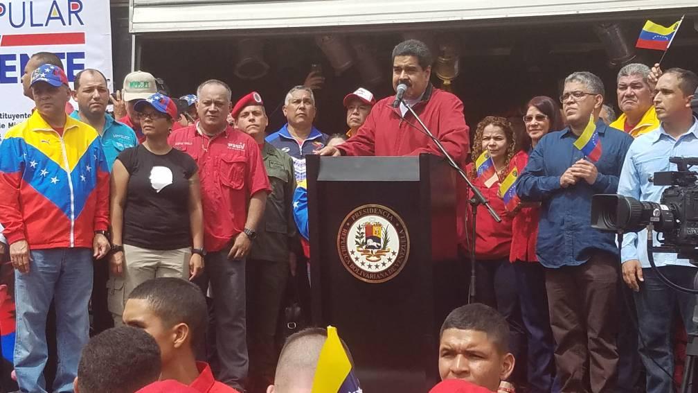 Foto: El presidente de la República, Nicolas Maduro / Despacho Presidencia?