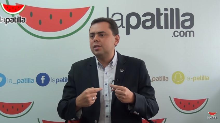 El presidente de la Fundación Arturo Uslar Pietri, Antonio Ecarri.